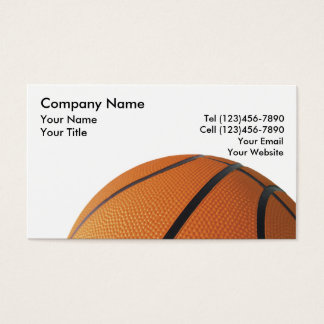 Basketball League Business Cards Templates Zazzle