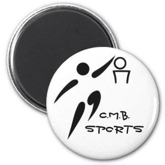 Basketball C.M.B.SPORTS 2 Inch Round Magnet