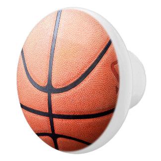 Basketball Ceramic Knob