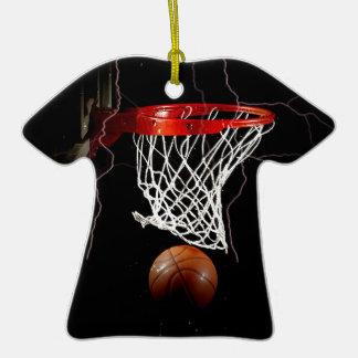 Basketball Ceramic Ornament