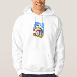 Basketball Chair Hooded Pullover