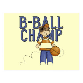 Basketball Champ Tshirts and Gifts Postcard