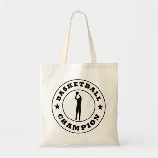 Basketball Champion Canvas Bags