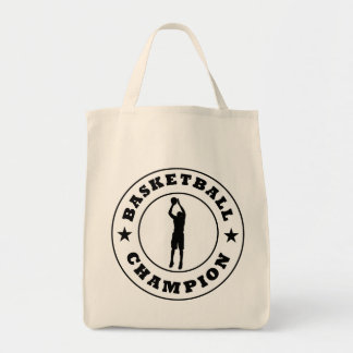 Basketball Champion Tote Bag