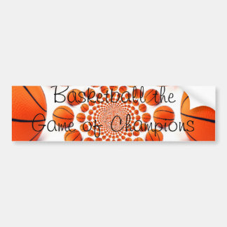 Basketball Champions Car Bumper Sticker