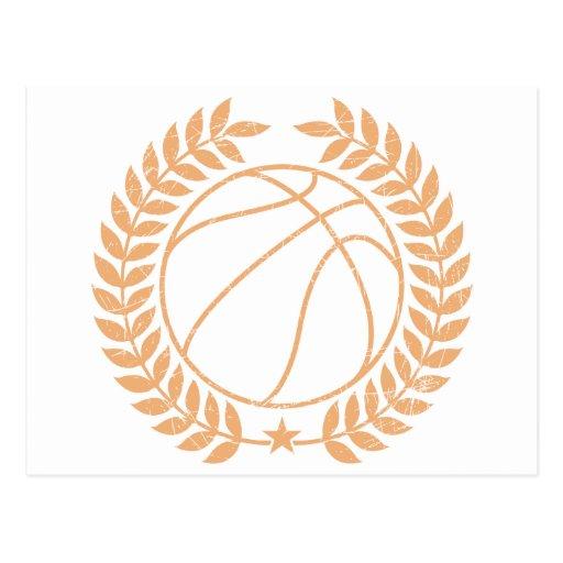 Basketball Champions Graphic Postcard