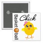 Basketball Chick Button