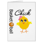 Basketball Chick Greeting Cards