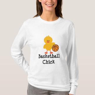 Basketball Chick Long Sleeve Tee