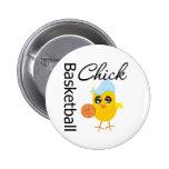 Basketball Chick Pins