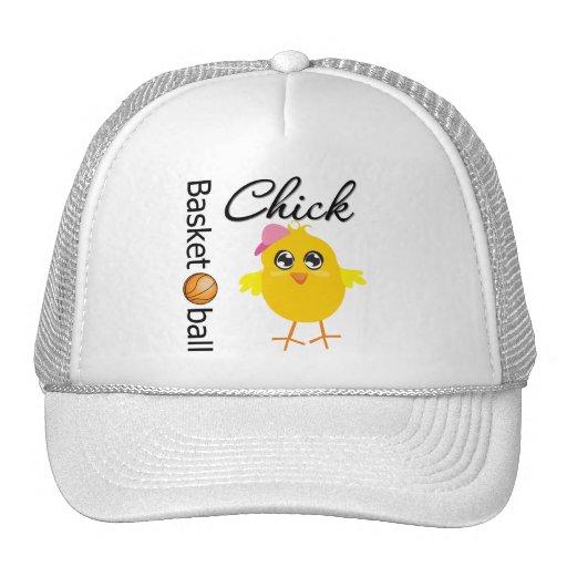 Basketball Chick Trucker Hat