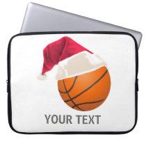 basketball christmas computer sleeve
