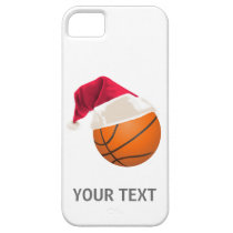 basketball christmas iPhone SE/5/5s case