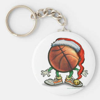 Basketball Christmas Keychain