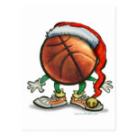 Basketball Christmas Post Cards