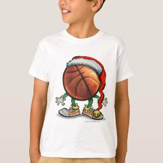 Basketball Christmas T-Shirt