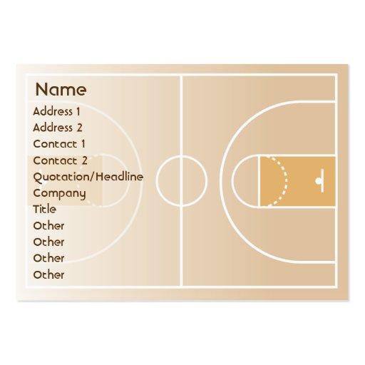 Basketball - Chubby Business Card