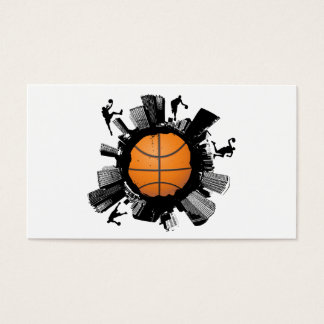 Basketball City Business Card