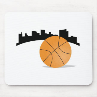 Basketball City Mouse Pad