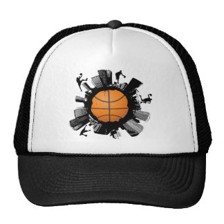 Basketball City Trucker Hat