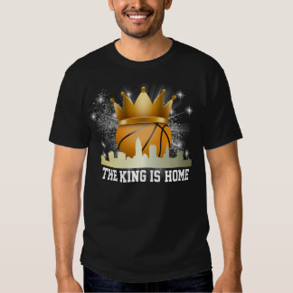Basketball - Cleveland - The King is Home T Shirt