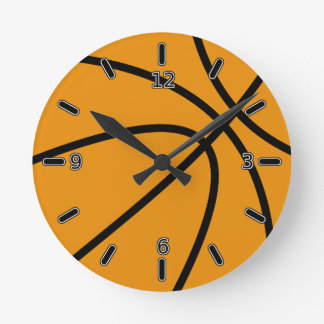 Basketball Clock (With Numbers)