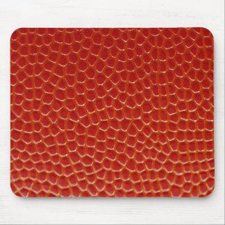 Basketball Close-up Texture Mouse Pad