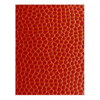 Basketball Close-up Texture Postcard