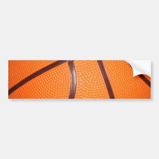 Basketball Close-Up Texture Skin Bumper Sticker