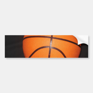 Basketball Close-Up Texture Skin Bumper Sticker