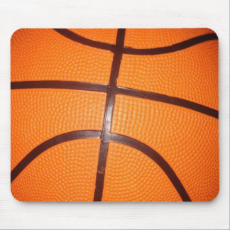 Basketball Close-Up Texture Skin Mouse Pad