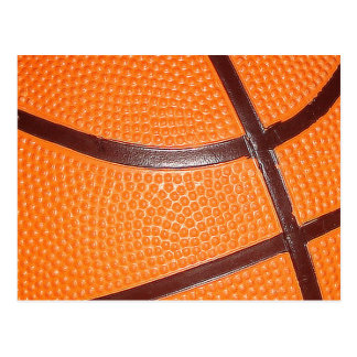 Basketball Close-Up Texture Skin Postcard