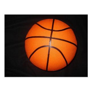 Basketball Close-Up Texture Skin Postcard