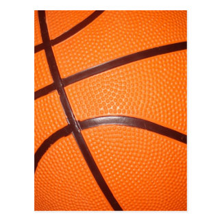 Basketball Close-Up Texture Skin Post Card