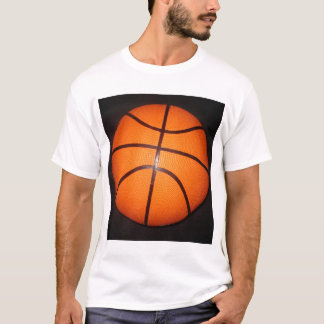 Basketball Close-Up Texture Skin T-Shirt