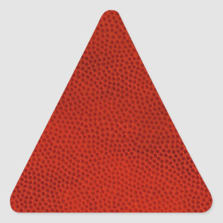 Basketball Close-Up Texture Skin Triangle Sticker