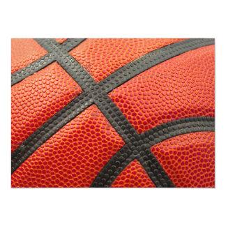 Basketball Closeup Card