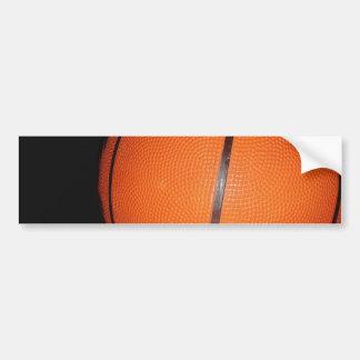 Basketball Closeup Skin Bumper Sticker