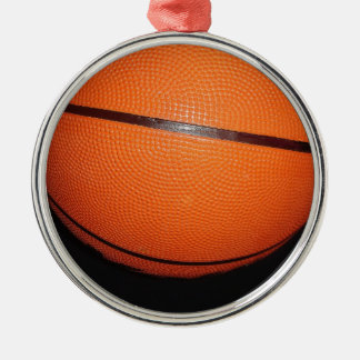 Basketball Closeup Skin Christmas Ornaments