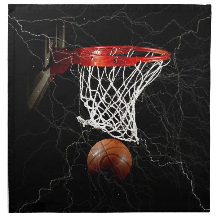 Basketball Cloth Napkin