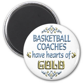 Basketball Coach Appreciation Fridge Magnets