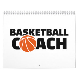 Basketball coach calendar