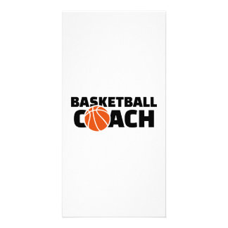 Basketball coach card