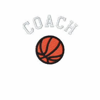 Basketball Coach - Customizable Embroidered Polo Shirt