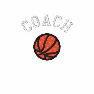Basketball Coach - Customizable Embroidered Polo Shirt