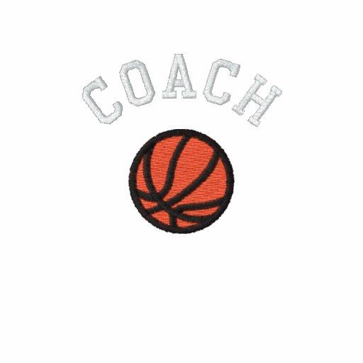 Basketball Coach - Customizable Polo