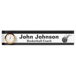 Basketball Coach | DIY Name Desk Name Plate