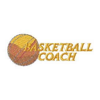 Basketball Coach Embroidered Shirt