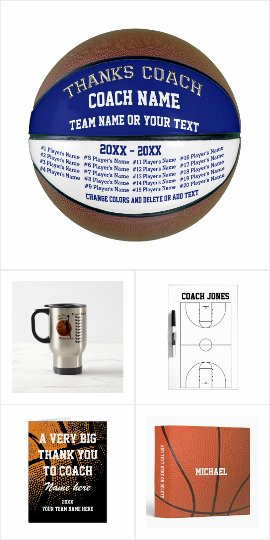 Gift ideas for basketball coach