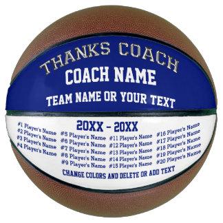Basketball Coach Gifts, Personalized Basketball